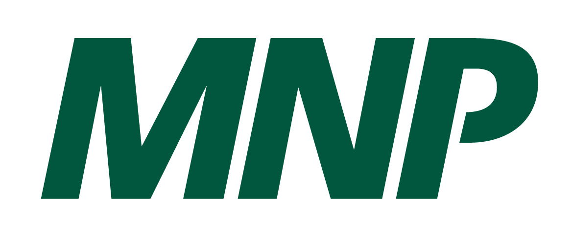 MNP logo that features MNP in bold green text